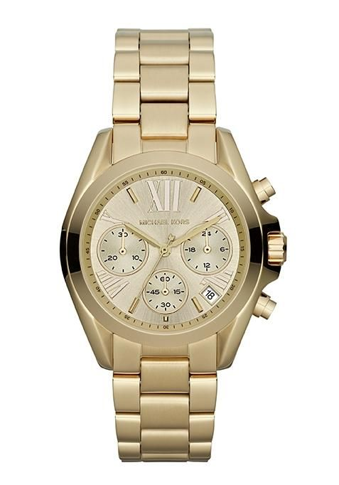 9731922836d6 Mini Bradshaw Damenchronograph   Pinterest   Michael kors, Goldene uhr und Michael  kors uhr