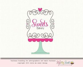 Baking Logo Sweet Bakery Graphic Design Logos Cake Shop Fronts Business Designing Projects To Try Shops