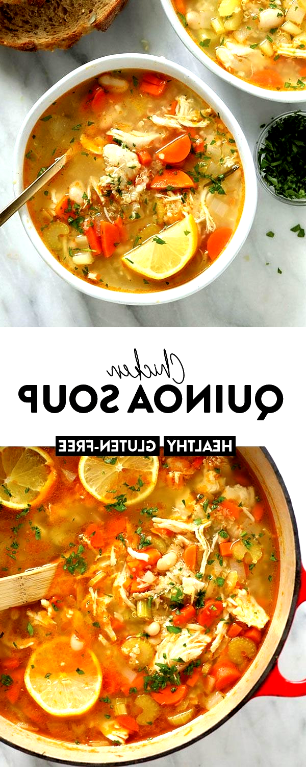 The healthy chicken soup that will make you feel better in an instant. Meet our amazing Chicken Qui