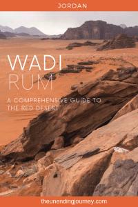 Exploring Wadi Rum - The Red Desert of Jordan #wadirum
