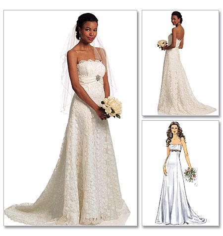 Misses\' Dress | Michelle | Pinterest | Brautkleid, Schnittmuster ...