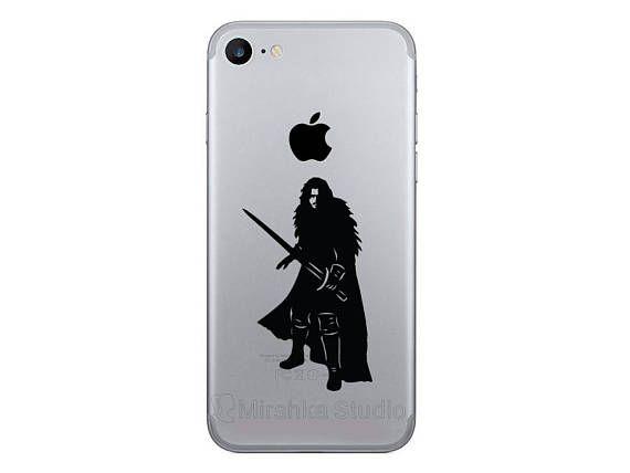 Jon snow iphone 7 stickers game of thrones galaxy decals got iphone 6 plus decor iphone 7 plus house stark phone vinyl stickers
