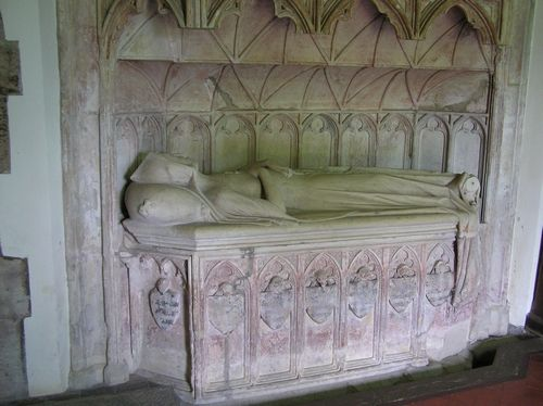 Tomb of Blanche Mortimer, Hellens and St Bartholomew's Church, Much Marcle, Herefordshire    http://www.richardiiiworcs.co.uk/hellensthumbnails.html