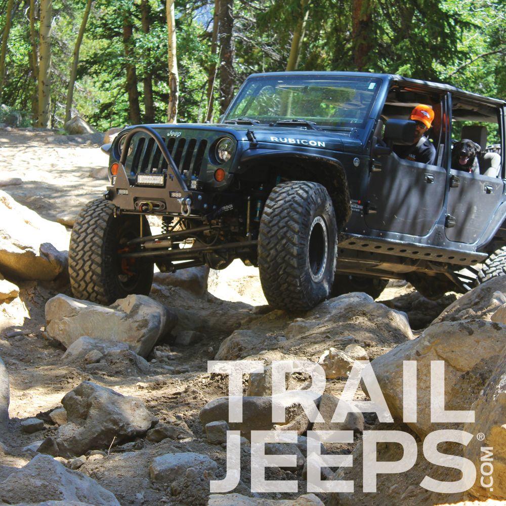 Spring Creek Trail #trailjeeps #offroad #jeeplife #4x4