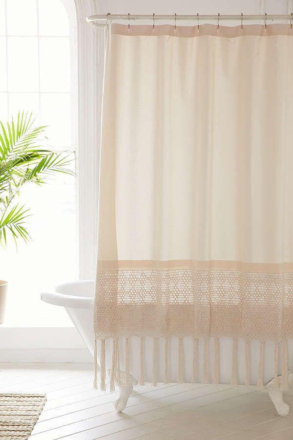 boho shower curtain bohemian style