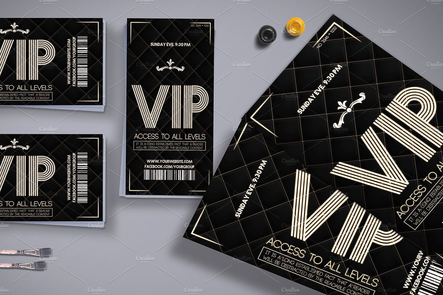 Luxury Vip Pass Card Vip Card Design Vip Card Cards