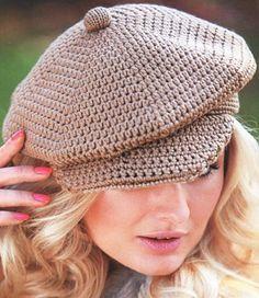 кепка крючком головные уборы шапочка вязание шляп и вязаные