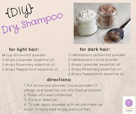 Diy Dry Shampoo Doterra Diy Essential Oil Recipes Diy Dry Shampoo Peppermint Essential Oil