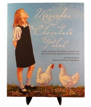 The heartwarming and true story about a young girl named Mercedes and an American soldier, Lt. Gail S. Halvorsen. During the Berlin Airlift, Lt. Halvorsen fashioned parachutes out of handkerchiefs to deliver chocolate to the children below. $17.95