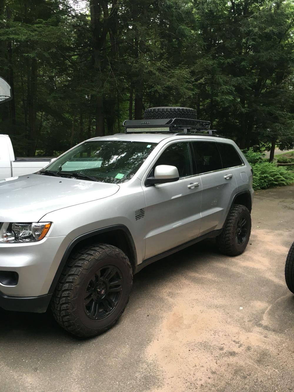 2014 Jeep Grand Cherokee Lifted : grand, cherokee, lifted, Grand, Cherokee, Lifted, Black, Wheel, 265/70r17, Kumho, Venture, Cargo, Carrier, Cherokee,, Diesel,