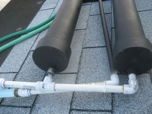 How To Make A Small Scale Diy Solar Hot Water Heater