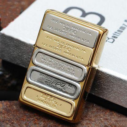 Japanese Plated Golden Bottom Up Stamps Zippo Lighter Limited Edition Zippo Lighter Zippo Zippo Art