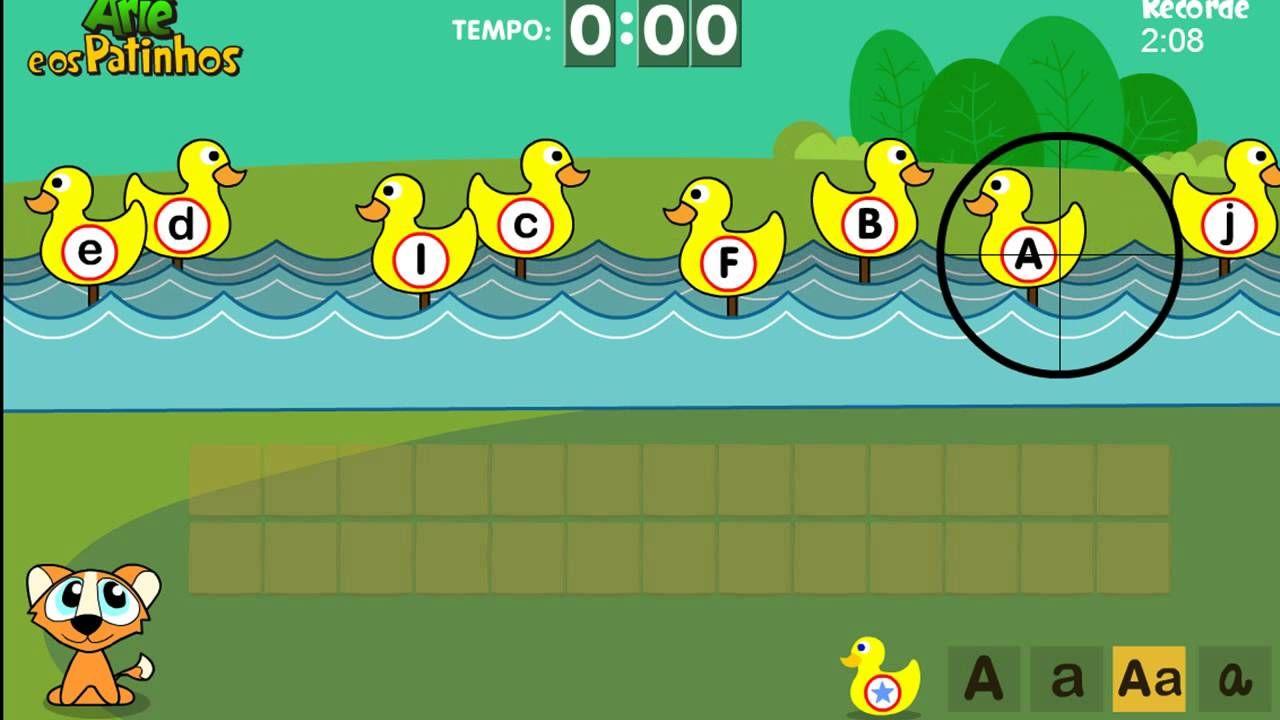 Jogo Educativo Brincando Com Arie E Os Patinhos Educational Game Playi Jogos Online Educativos Jogos Educativos Jogos
