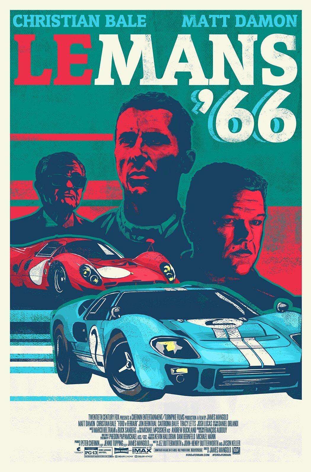 Asfaltin Krallari Ford V Ferrari In 2020