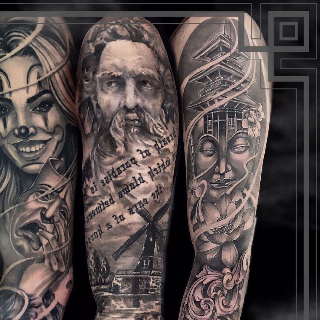 Photo 7/9 • •  @kwadron @balmtattooitalia  #mexicanskull #mexicanstyle_tattoos #mexicanstyle_art #tatts #inked #chicanotattoo #chicanostyle #tattooart #tatuaggiochicano #skulltattoo #realistictattoo #blackandgrey #blackandgreytattoo #payasa #tattoo #blackworktattoo #realisticink #tattooportrait #italiantattooartist #tatted #tattedup #losangeles #newyork #coverup #tattooing #payasatattoo #torino #newyork