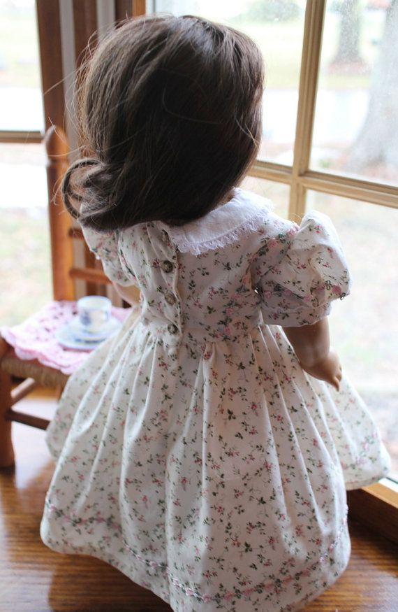 Maytime Civil War Era Dress w/ Bonnet and by butterfliesdaydreams