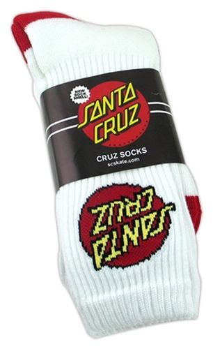 a1048d31c7 Santa Cruz Dot Socks (2 pair pack) Santa-Cruz-Dot-White | Products ...