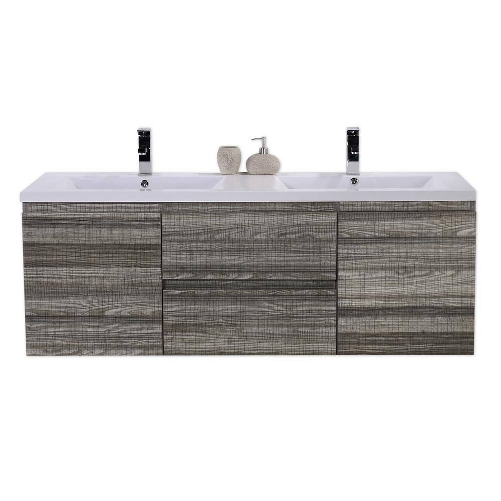 Bathroom Vanities Wholesale Bohemia 60 In W Bath Vanity In High