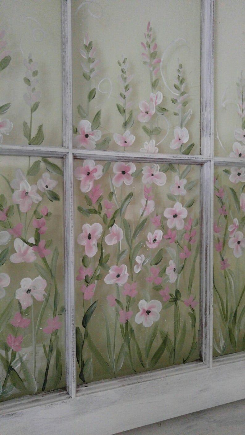 Old paint window CUSTOM window ideas painted window window   Etsy ...