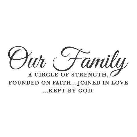 Bible Quotes About Family Strength Quotesgram Family Quotes