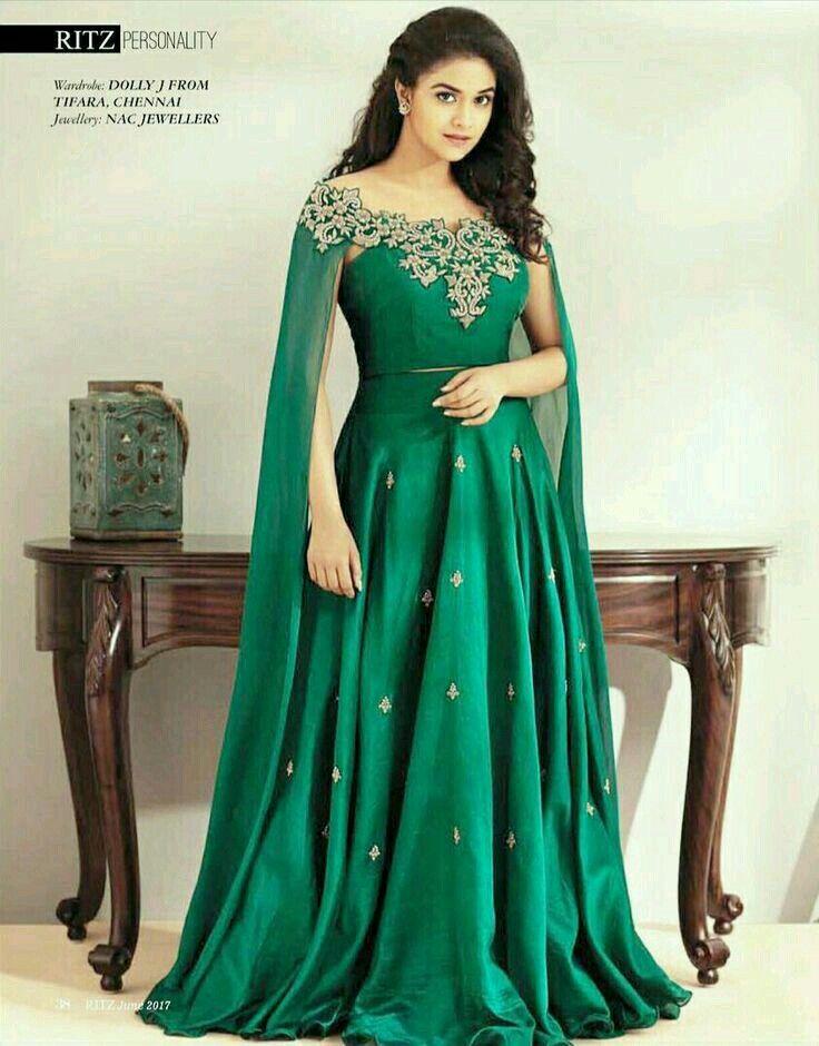 Pin by Susmi.D on keerthi Suresh   Indian wedding dress ...