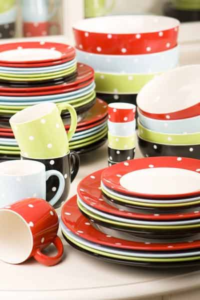 Spode Baking Days Dinnerware--love our green and black china ...