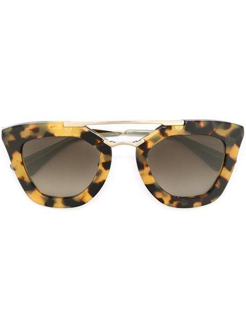 Prada Eyewear cat eye frame sunglasses   Four Eyes   Sunglasses ... 014e11b4eee8