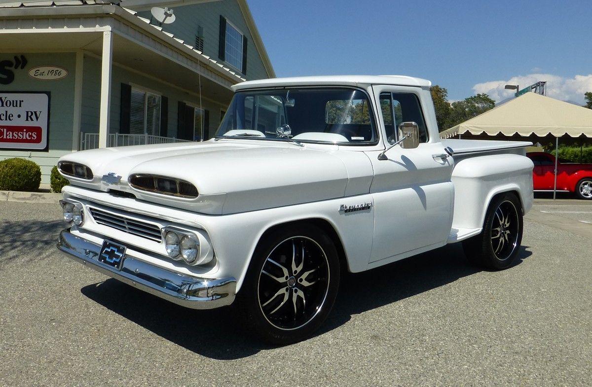 1960 chevrolet c10 stepside short bed pick up gm trucks 1960 39 61 39 62 39 63 pinterest. Black Bedroom Furniture Sets. Home Design Ideas