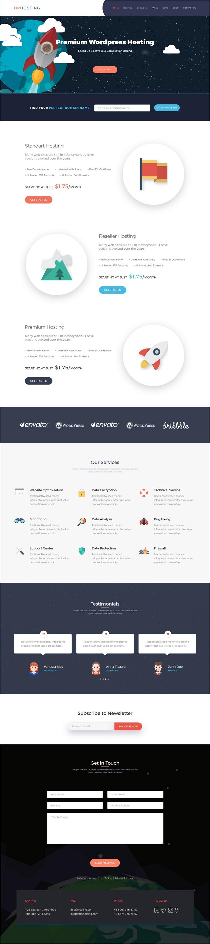 Pin von Web Design Inspiration auf Free Bootstrap Themes Collection ...