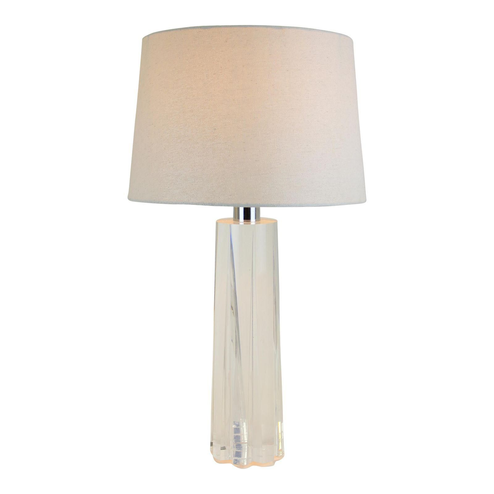 Image of 1970s mid century lucite table lamp apartment final 1970s mid century lucite table lamp geotapseo Images