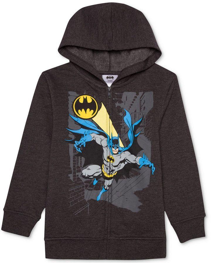 c29535044235 Dc Comics Batman-Print Hoodie