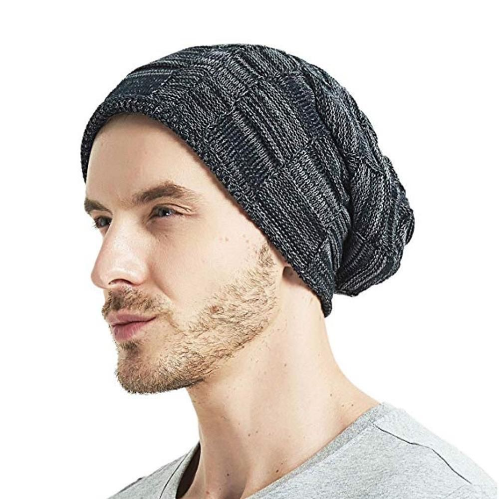 822ba988d0a Unisex Men Women Warm Oversize Beanie Skull Baggy Cap Winter Slouchy Knit  Hat  fashion  clothing  shoes  accessories  mensaccessories  hats (ebay  link)