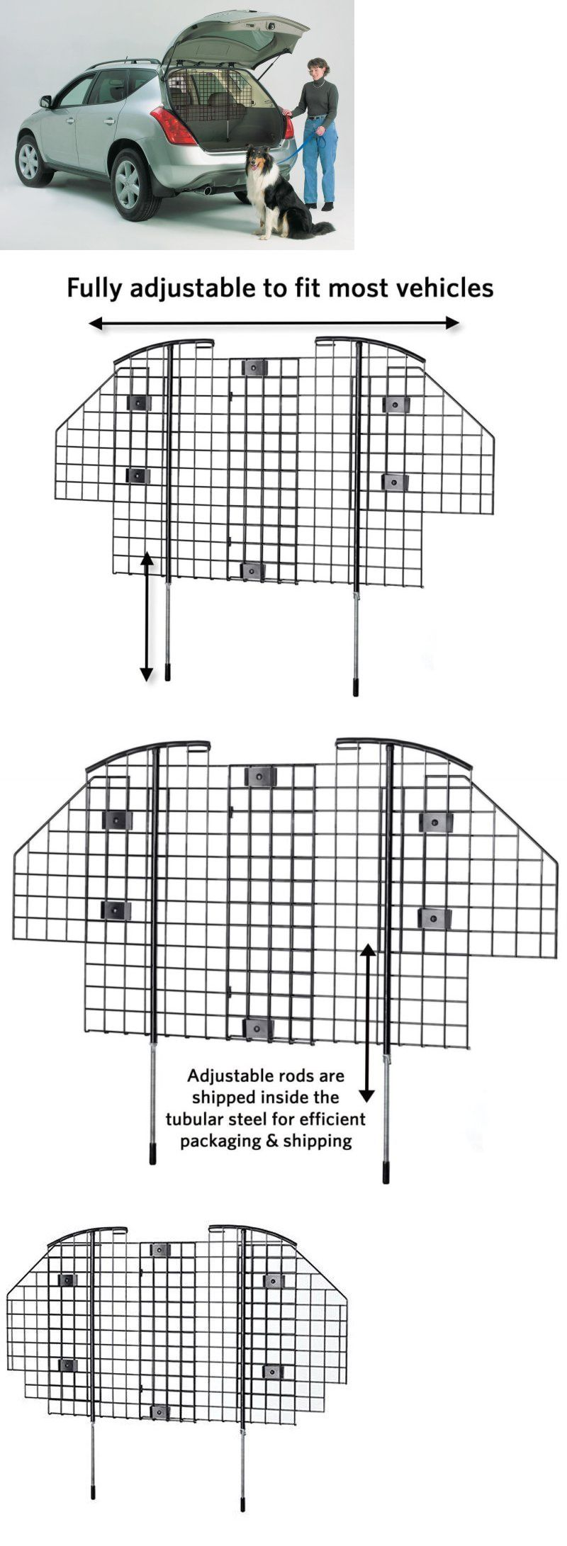 Car seats and barriers midwest pet barrier wire mesh car