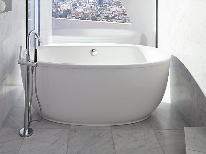 With its luxurious style and ergonomic design the k 6369 for Ergonomic designs bathroom