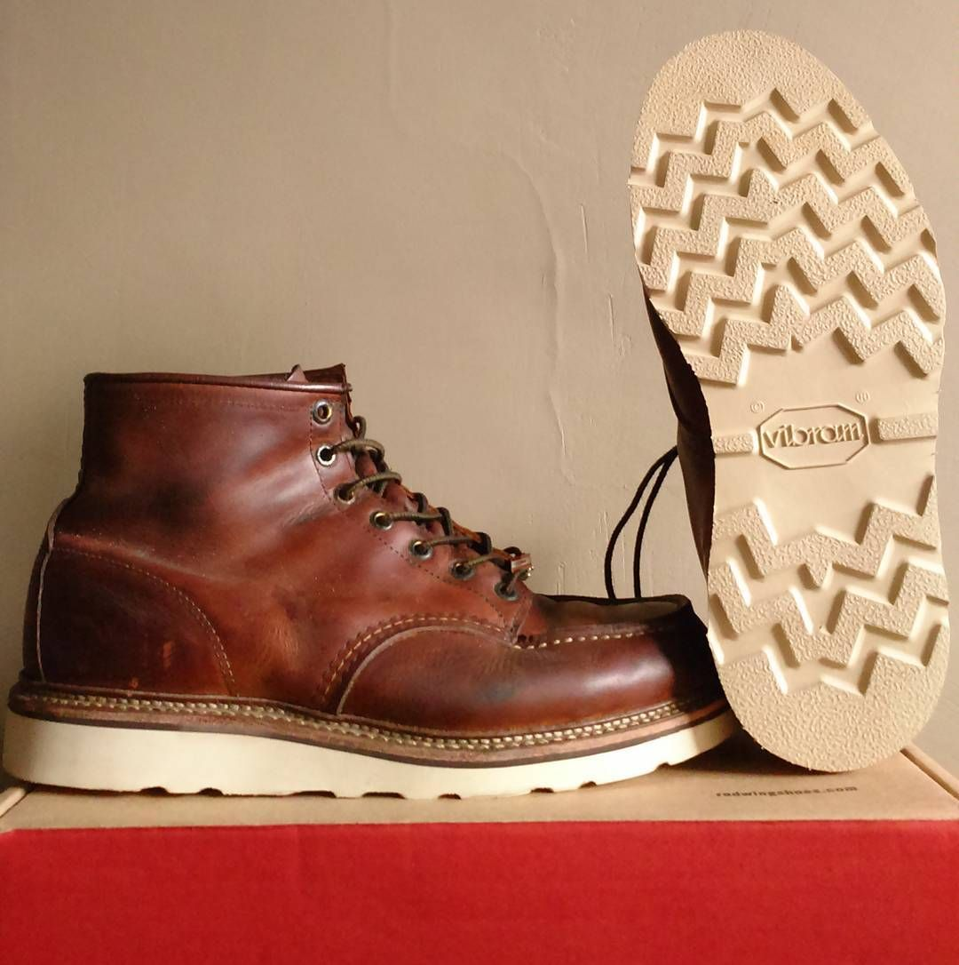 8cd428c3eef RESOLE SERVICE. Red Wing 1907 X Vibram #redwingshoes ...