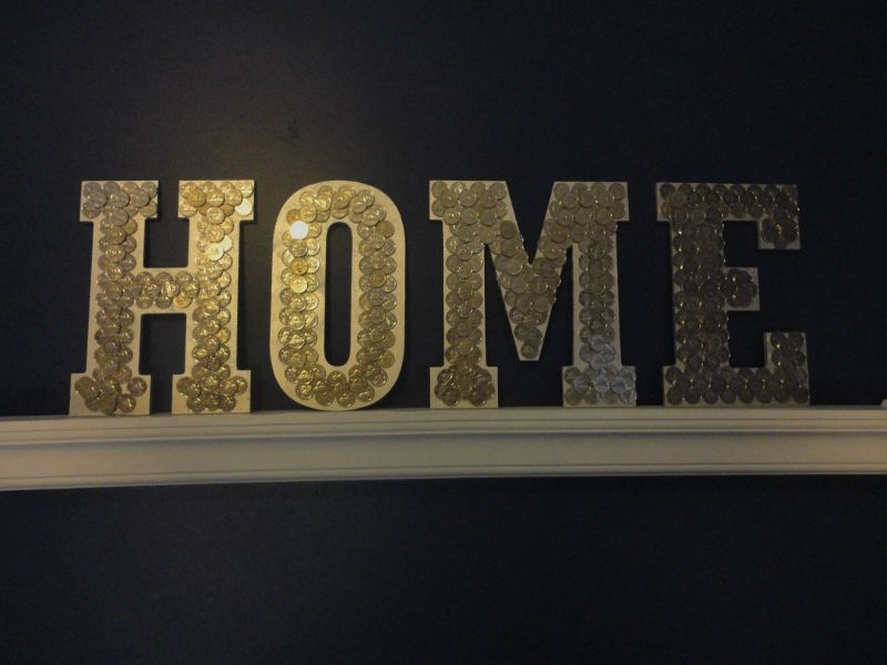 Nickel (coin) art | Home Sweet Home Remodel | Coin art