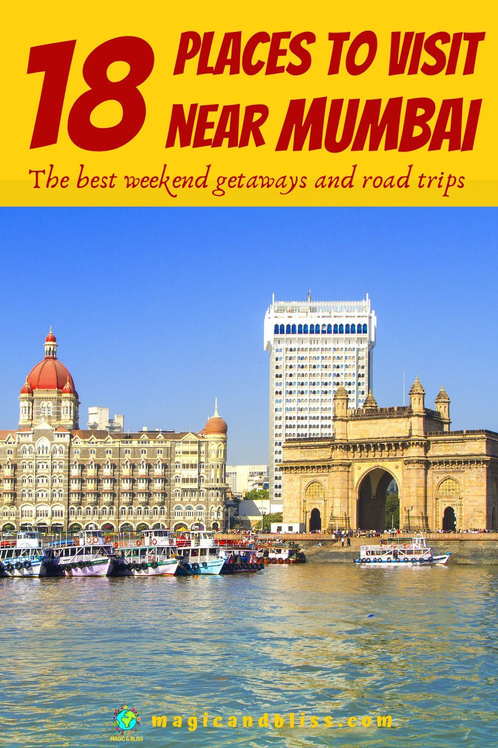 18 Places To Visit Near Mumbai The Best Weekend Getaways And Road Trips Asia Travel India Travel Best Weekend Getaways