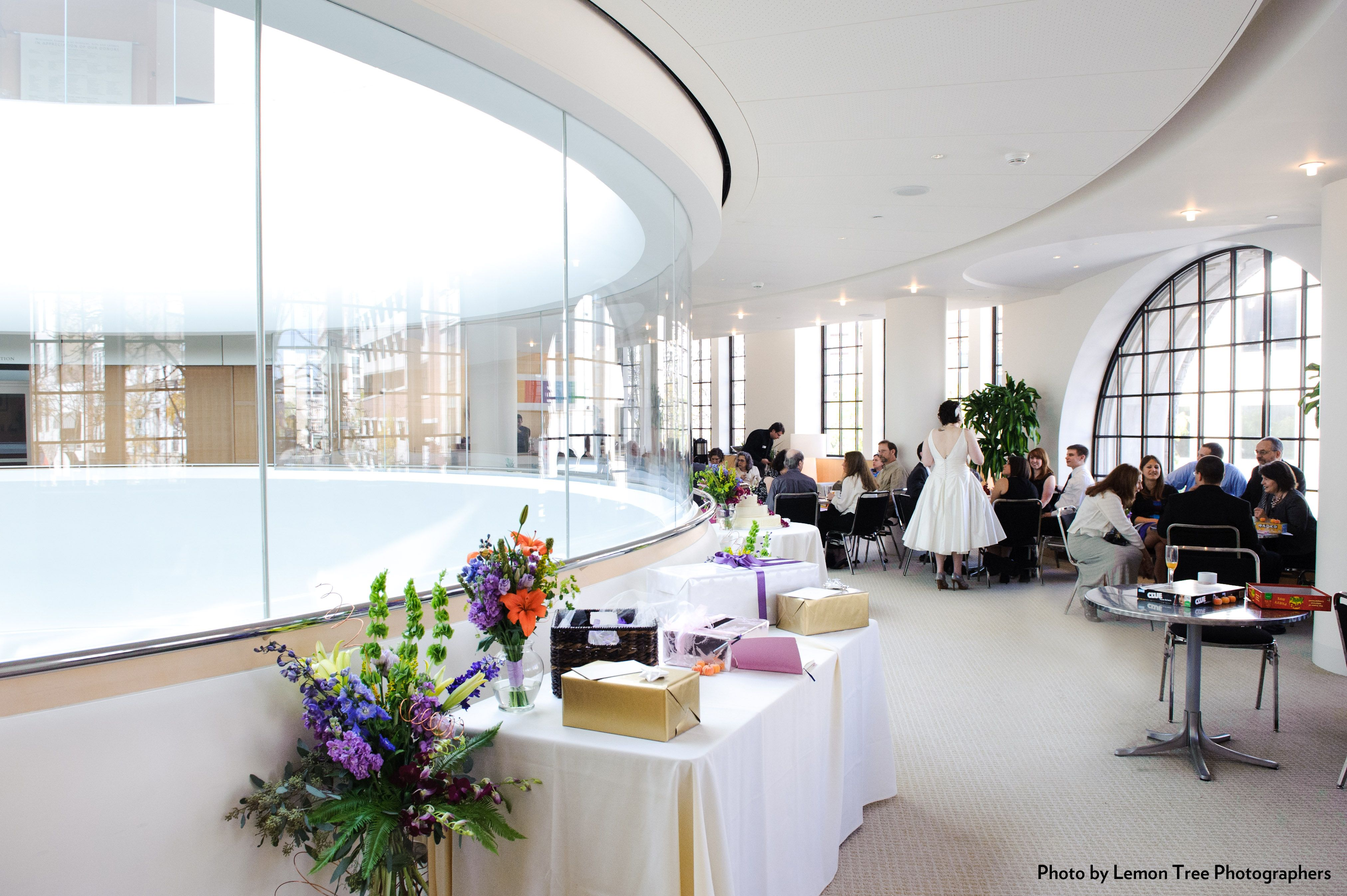 Promenade Lounge Wedding Reception At The Overture Center For The