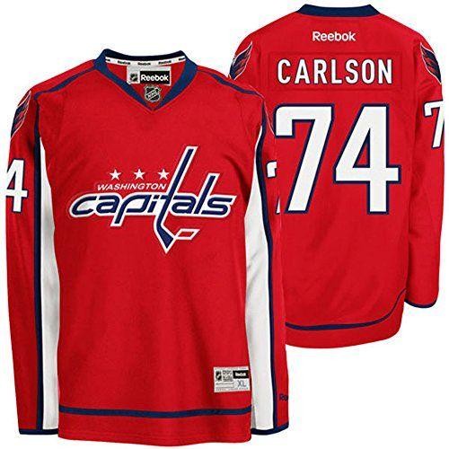 ... Reebok Premier Jersey NHL Washington Capitals 74 John Carlson Mens  Premier Jersey Red color Size S Be sure . ... 44025ac8a