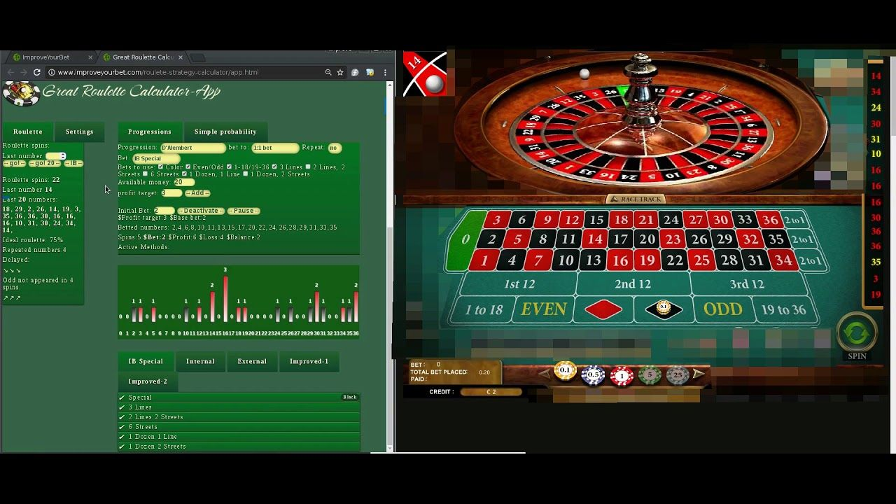 D Alembert And Color Bets To Beat Roulette Roulette Betting Simple Probability