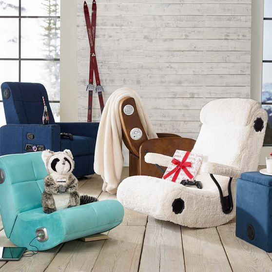 Suede Mini Rocker Speaker Chair With Images Farmhouse Table