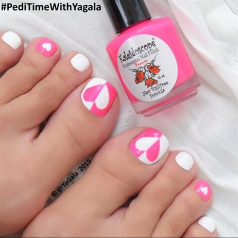 Toe Nail Art By Yagala From Gallery