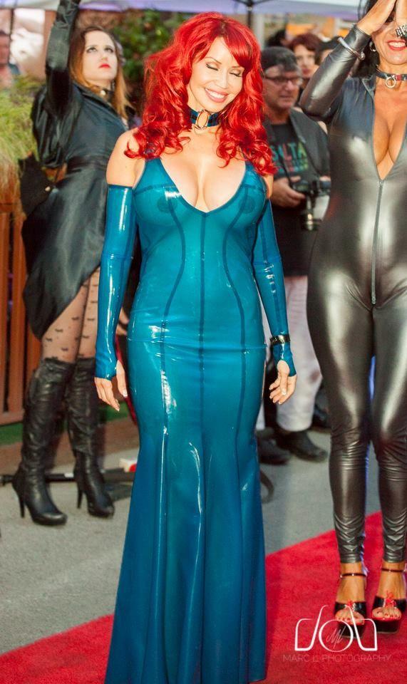 Bianca beauchamp blue latex