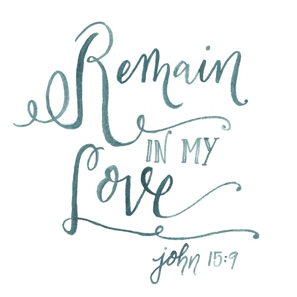 Free devotional on remain in my love john