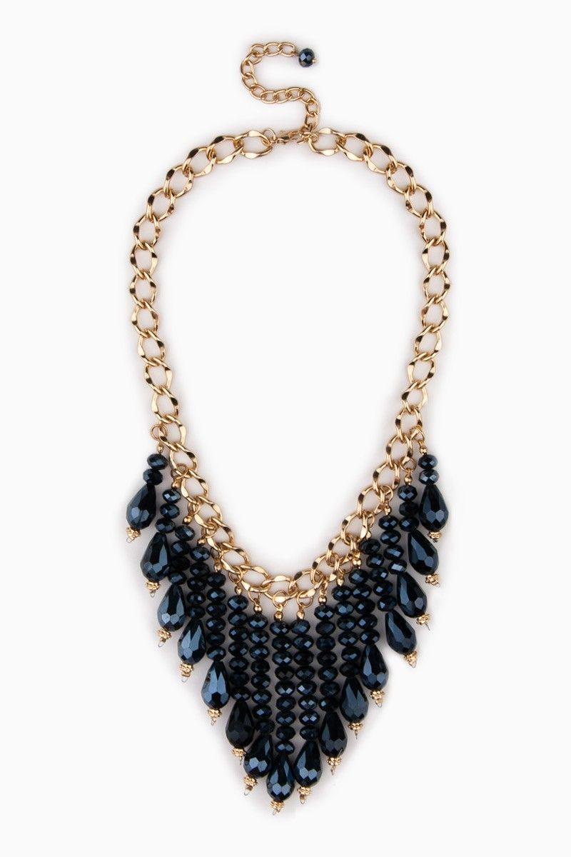 Fayette Necklace in Blue   ShopSosie  shopsosie  sosie  0facf0fff71