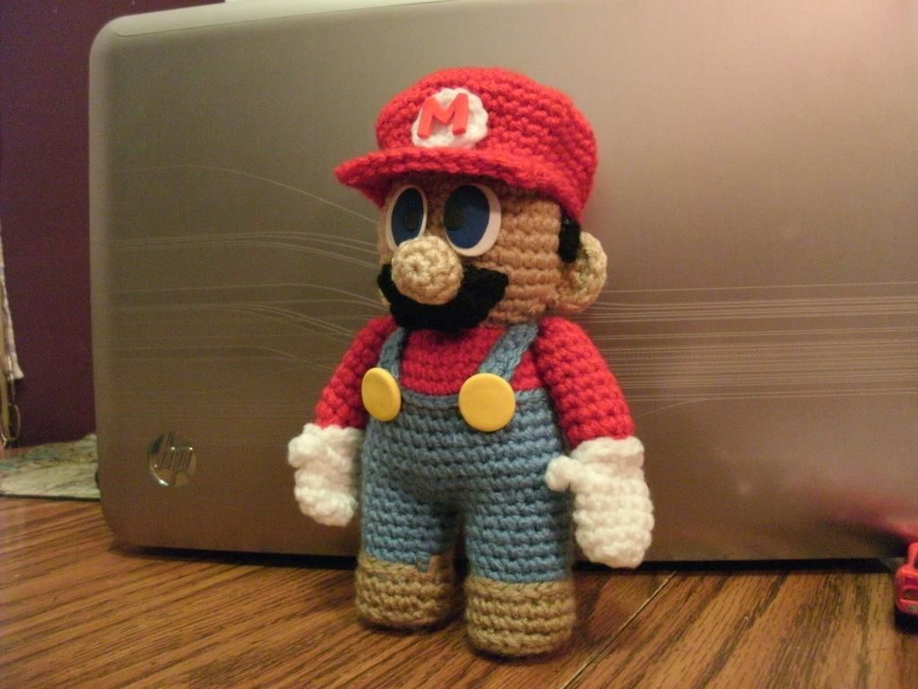 Mario doll pattern dolls patterns and crochet mario doll pattern bankloansurffo Images