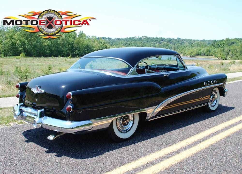 1953 Buick Roadmaster | MotoeXotica Classic Car Sales | Bad Buicks ...