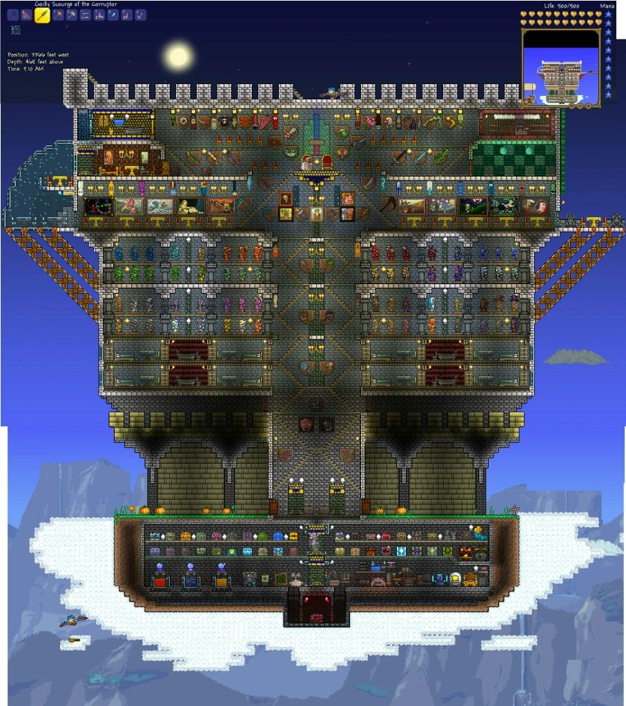 Terraria House Design Image By Colin Wendt On Terraria
