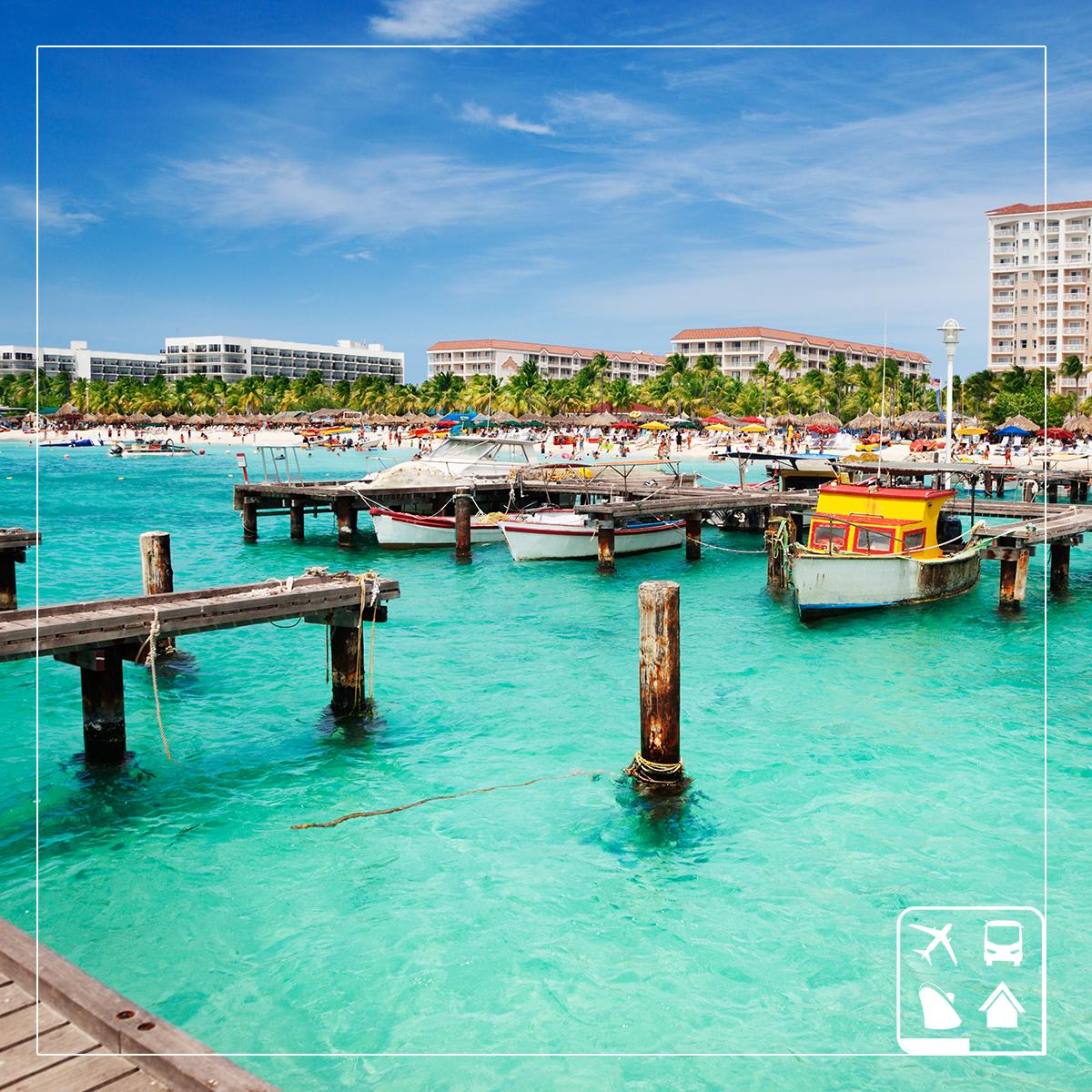 No Caribe você encontra um sol deslumbrante, praias intermináveis de areias brancas e um agitada vida noturna. Gostou? Então conheça 5 destinos desse paraíso que você precisa visitar gastando pouco: http://goo.gl/10sKfp #AmoViajar ☀ ☀ ☀