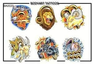 Zodiac Tattoos Designs  Free To Download And Print